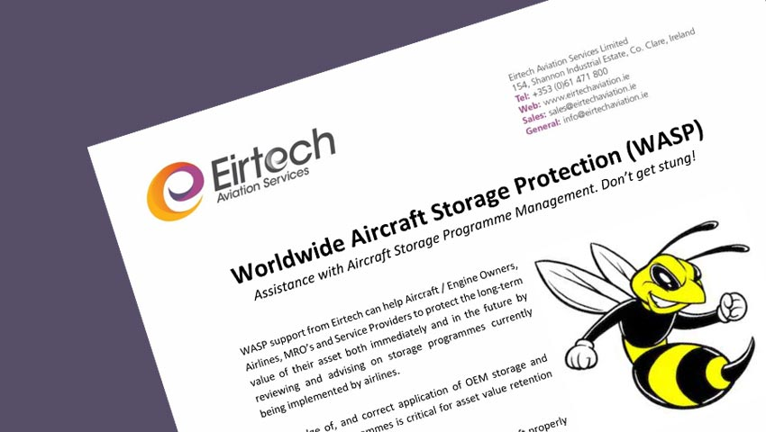 Worldwide Aircraft Storage Protection (WASP)