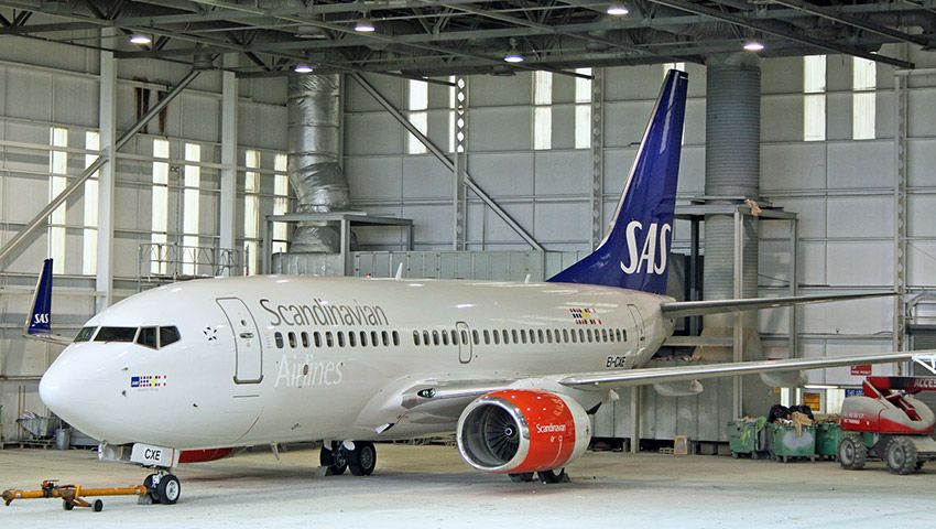 Eirtech Aviation Services Wins Four Year Technical Services Contract with SAS